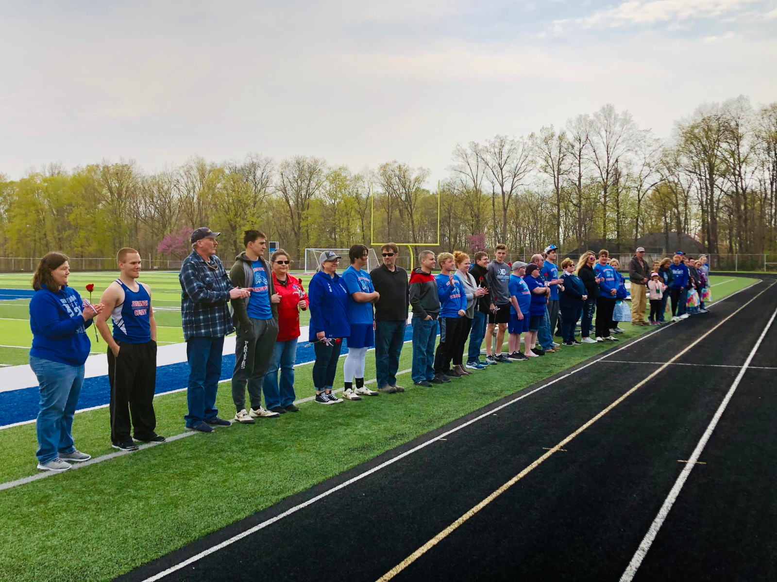 Boys Track Wins Tri-Meet and Girls Take Second