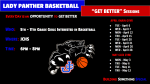 """Lady Panther Basketball: """"GET BETTER"""" Sessions Happening Now"""