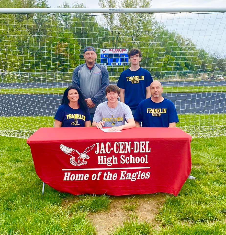 Kobe Darnold Signs with Franklin College to play soccer
