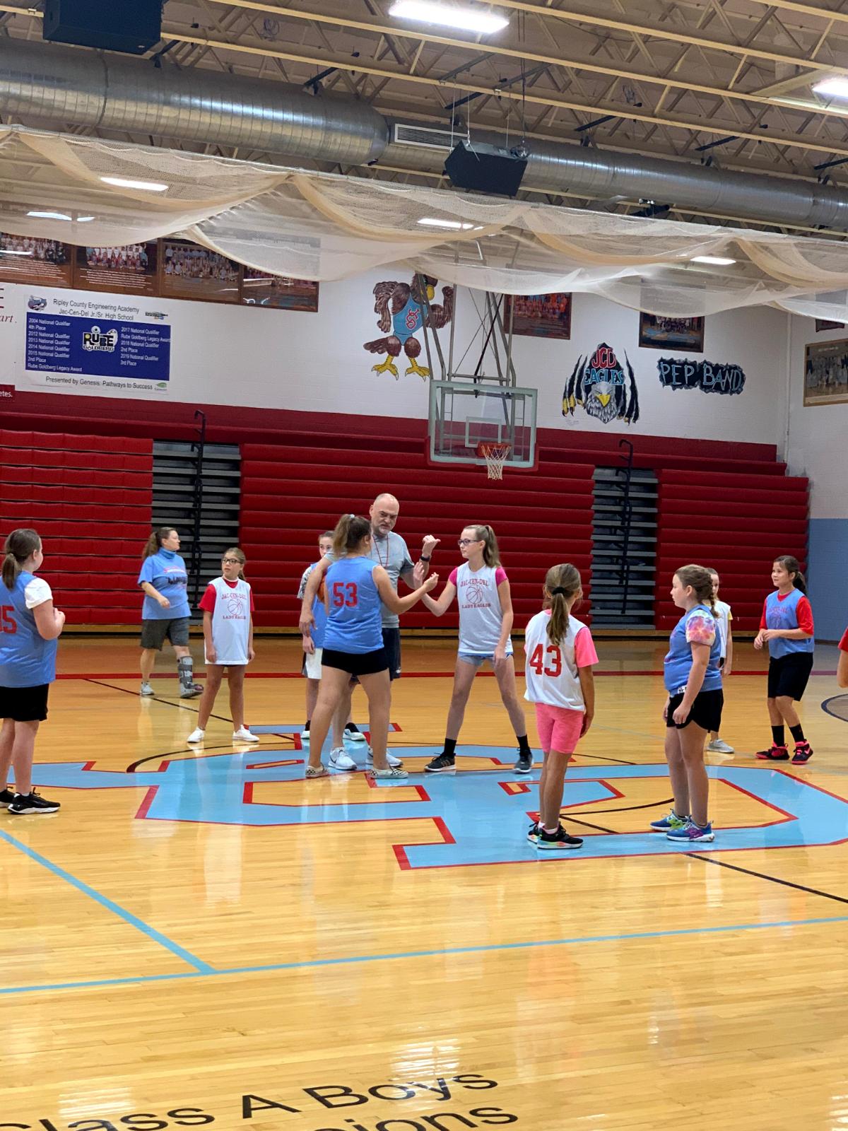 4th-6th Grade Girls Basketball 9/5