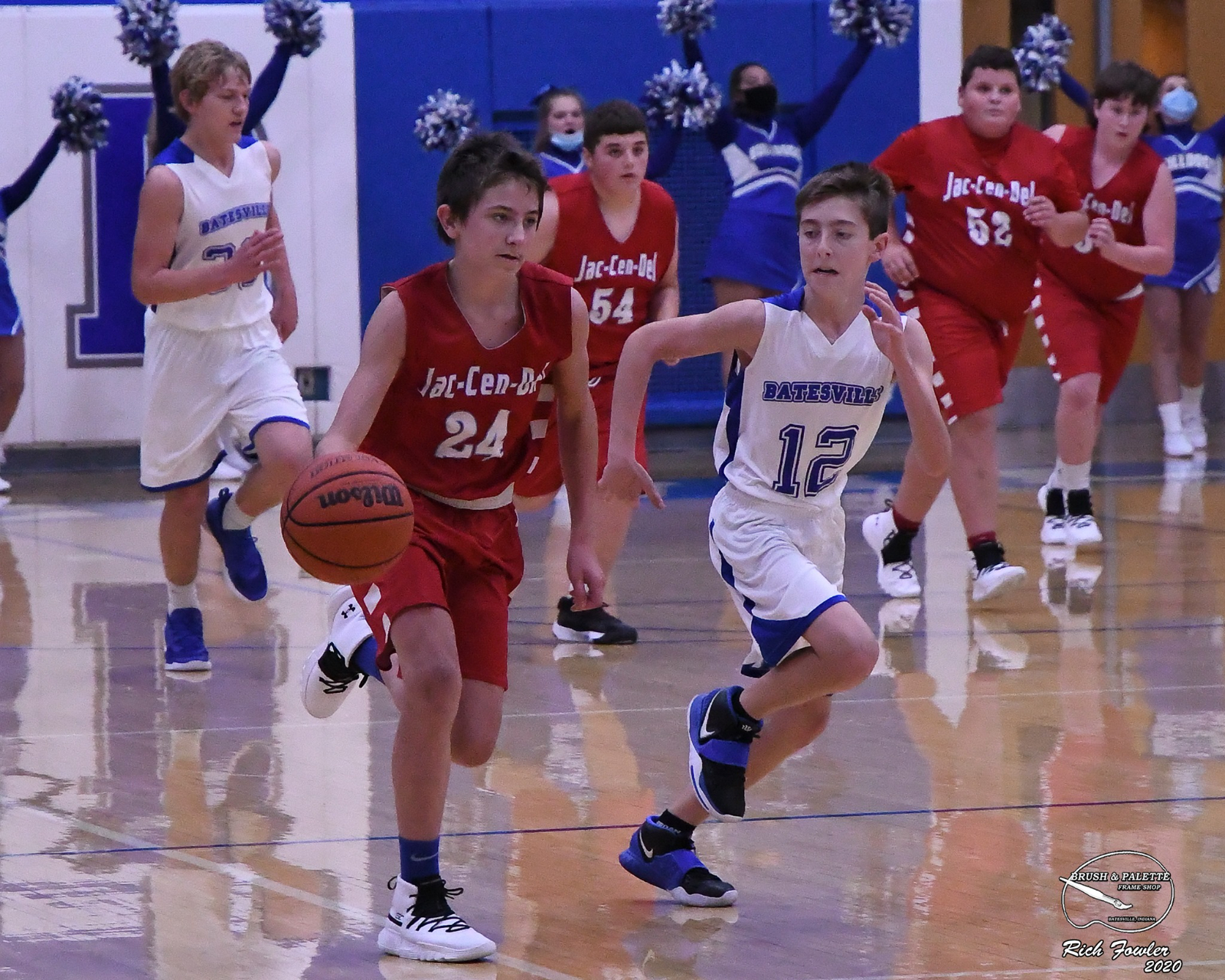 8th grade boys vs Batesville