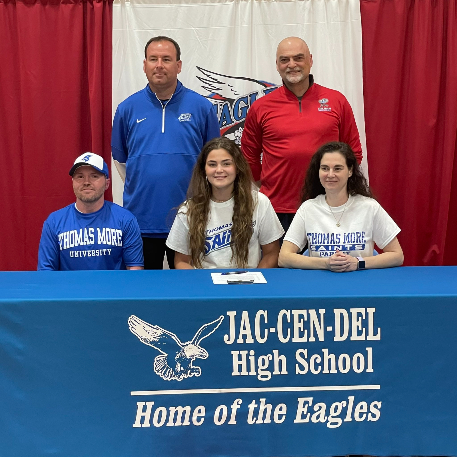 Paige Ledford signs with Thomas More