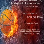 11/23/19 Concordia Youth Basketball Tournament Information