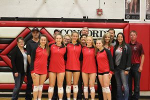 HS Volleyball Senior Night 10/15/19