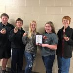 JV Scholar's Bowl Team Wins Gold!