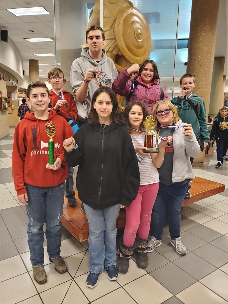 Concordia Chess Brings Home Hardware