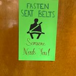 Posters Remind Students To Use Seatbelts