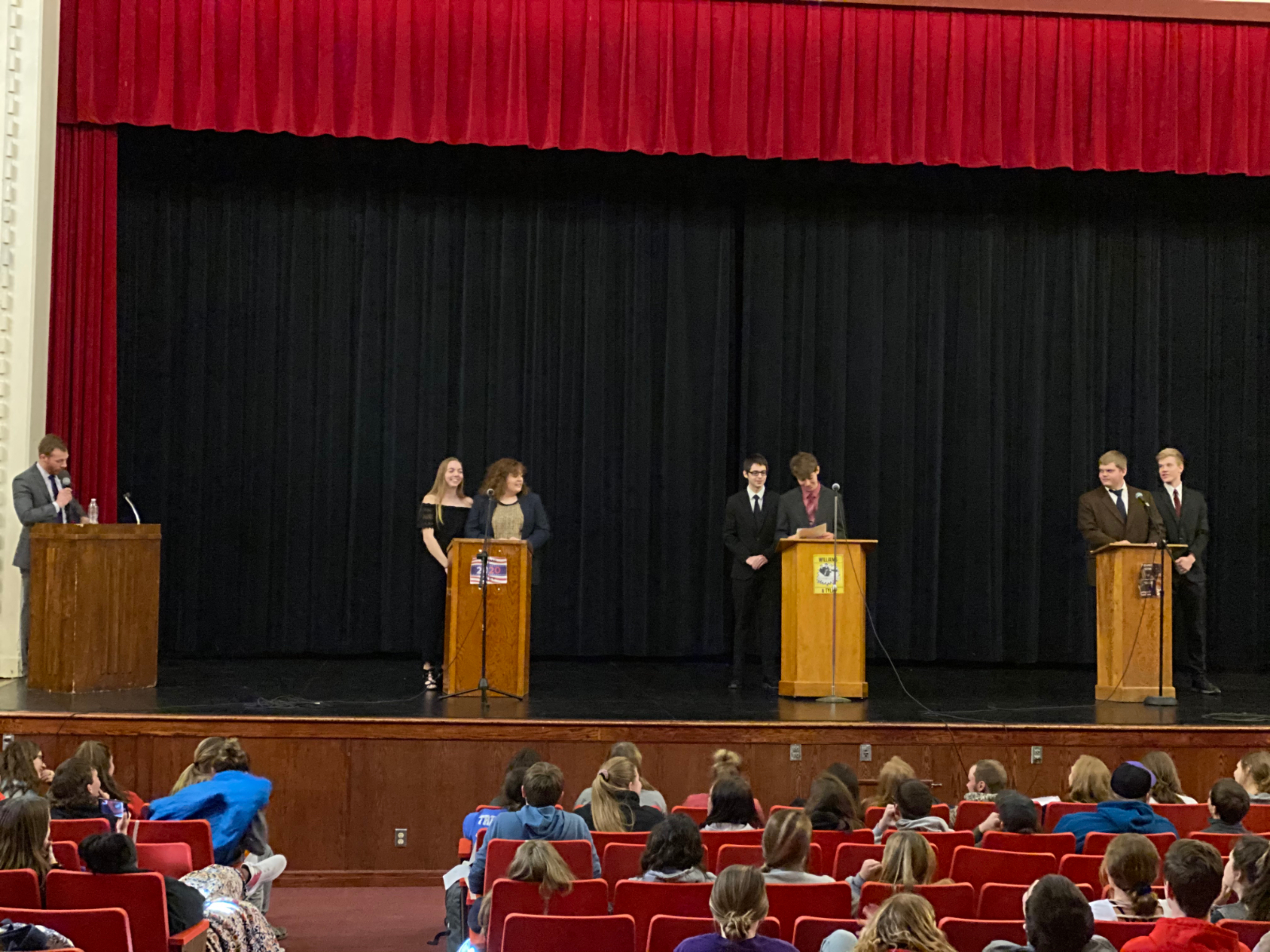Senior Government Class Conducts 2020 Mock Election