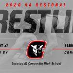 2020 4A Regional Wrestling Schedule
