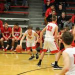 Boys Varsity Basketball beats Wamego 71 – 61