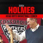 Welcome Derek Holmes as Head High School Boys Basketball Coach!