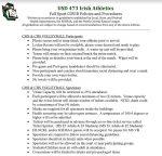 Chapman JH Volleyball Fan Information