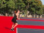 Girls Junior Varsity Tennis finishes at Concordia JV Meet