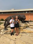 Both Girls Bring Home Medals from the Clay Center Invitational
