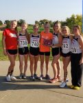 Girls Cross Country Team Places 1st at Ellsworth Invitational