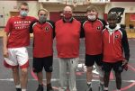 Panther Wrestlers Pick Up Two Wins on Senior Night
