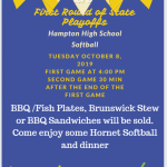 Softball Playoffs & Fundraiser