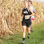 Jackson Triplett competes at State Cross Country Meet