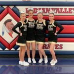 TCC Cheer Squad Shines at IVC Event