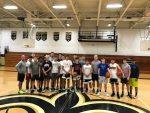 TCC Boys Basketball with Successful Shootathon