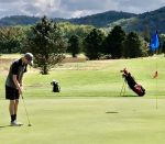 Saints Angelini Fares well in District Golf