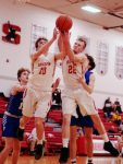 A.J. Clayton had another big night, but Sheridan's balanced proved too much for Philo