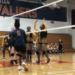 Girls Junior-Varsity Volleyball falls to New Miami 2 – 0