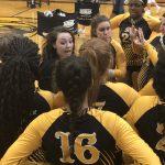 Girls Varsity Volleyball beats New Miami 3 – 0