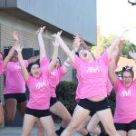 Girls Varsity Volleyball beats Lockland on #ThinkPinkNight
