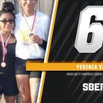 Yesinia Vivar Finished 6th at Junior High League Race