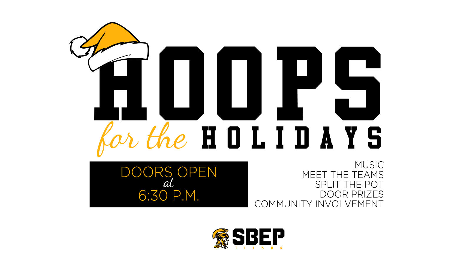 Join us for Hoops for the Holidays