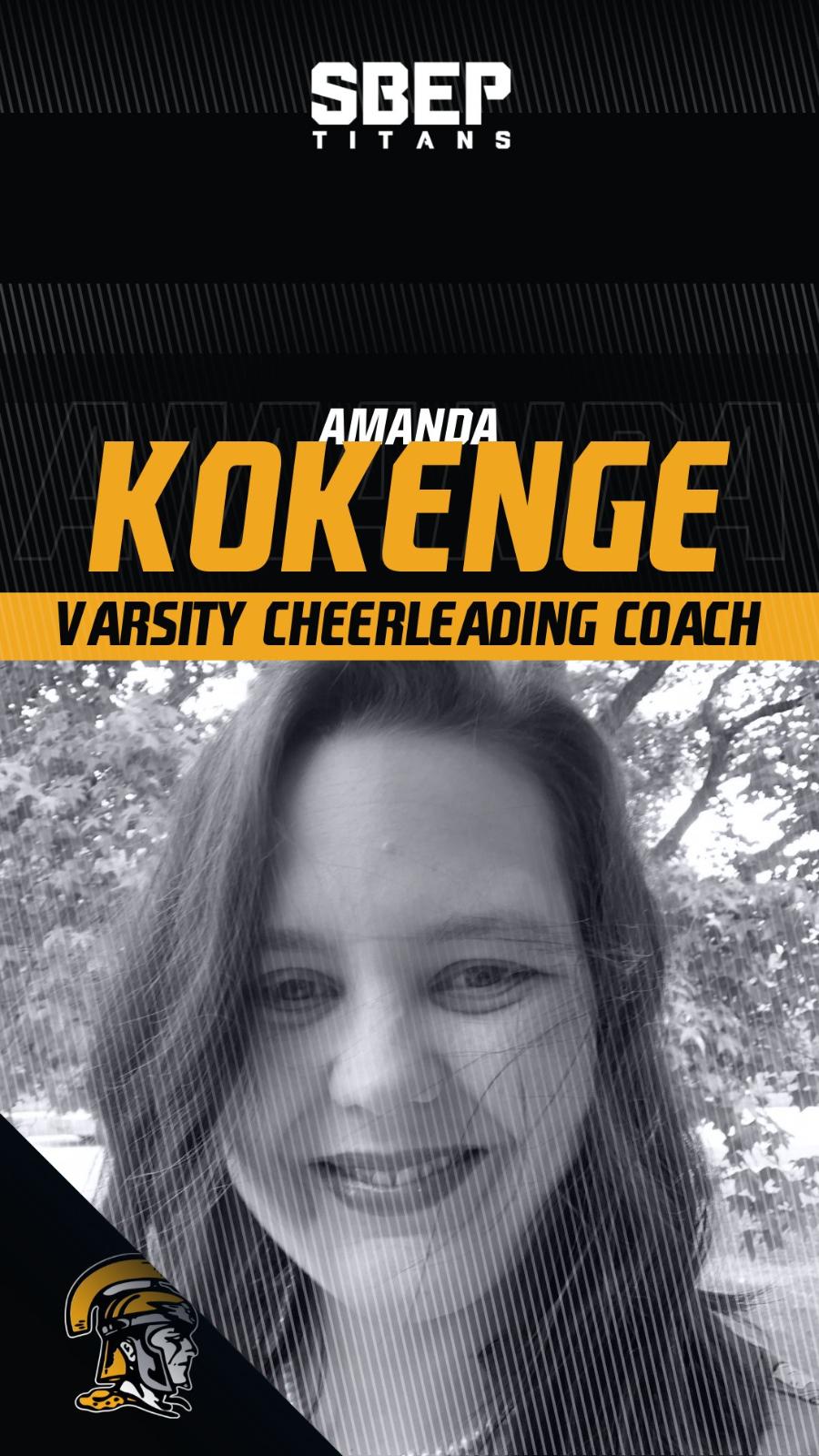SBEP Welcomes Amanda Kokenge as New Cheer Coach
