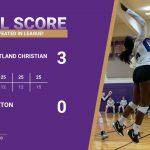 Girls Varsity Volleyball beats Gaston 3 – 0