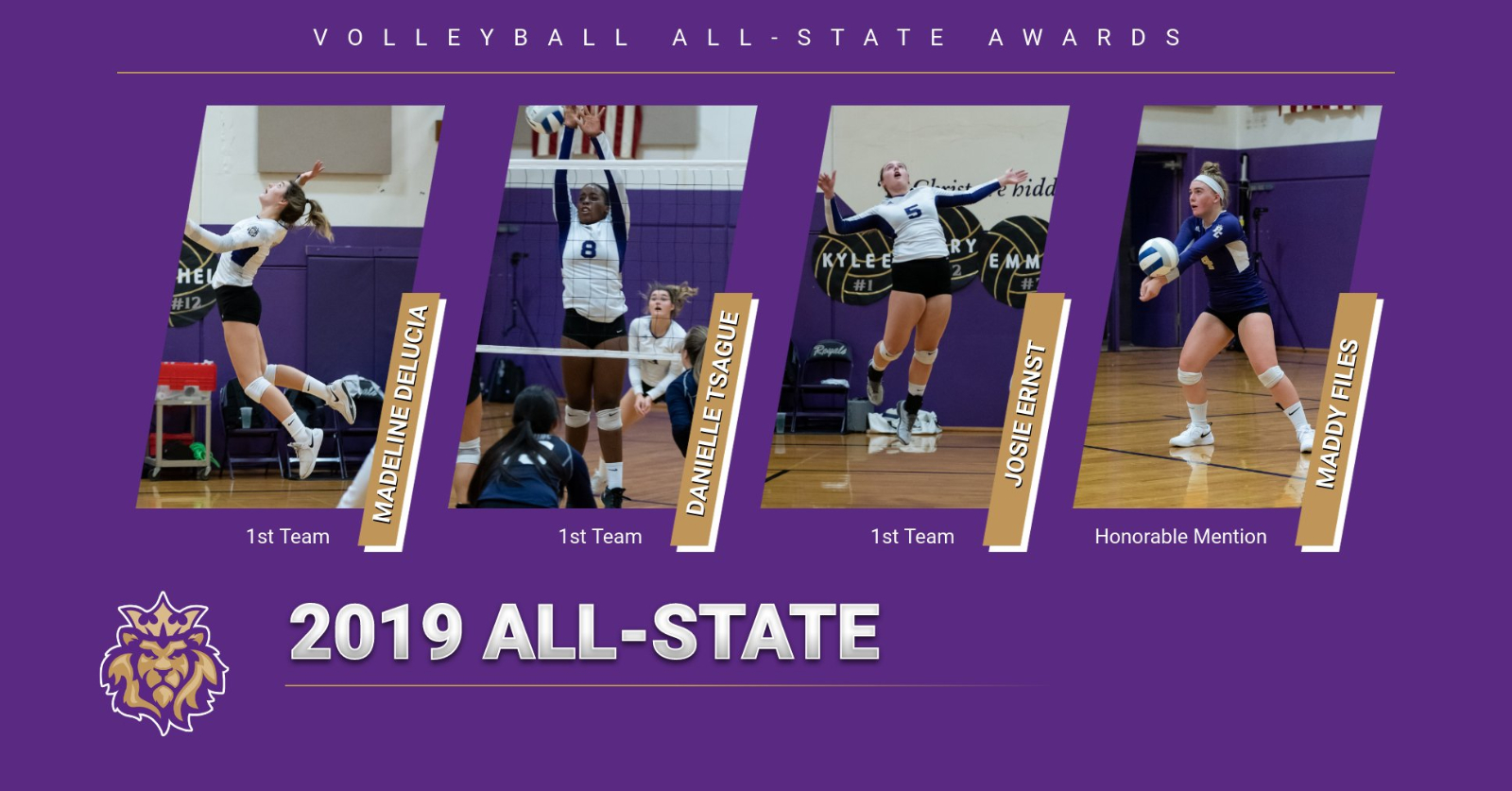 Volleyball All-State Award