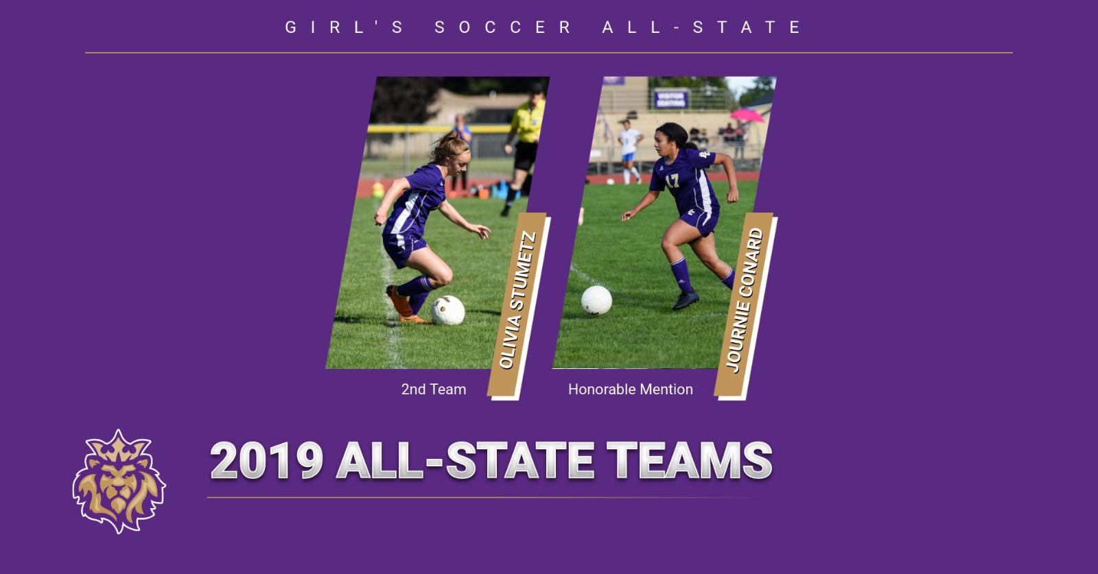 Girls Soccer All-State