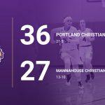 Girls Varsity Basketball beats Mannahouse Christian Academy 36 – 27