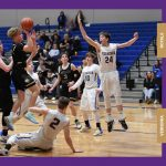 Boys Varsity Basketball beats Vernonia 49 – 44
