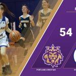 Girls Varsity Basketball beats Knappa 54 – 26
