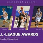 Three Royals Named All-League