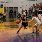 Girls Varsity Basketball falls to Union 45 – 35
