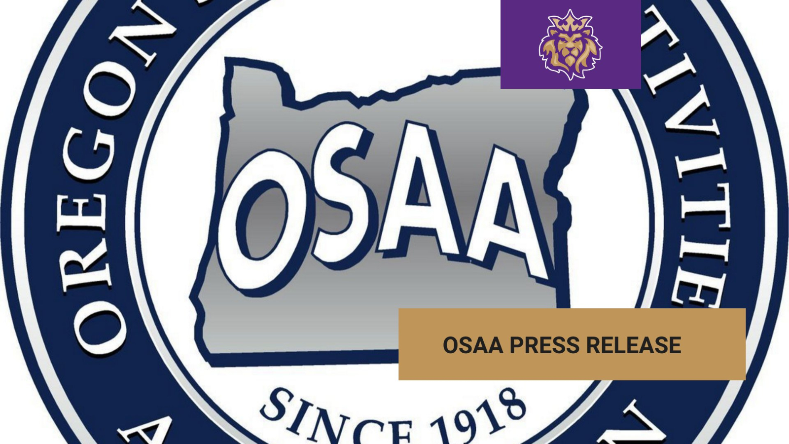 OSAA Announcement, April 8th, 2020