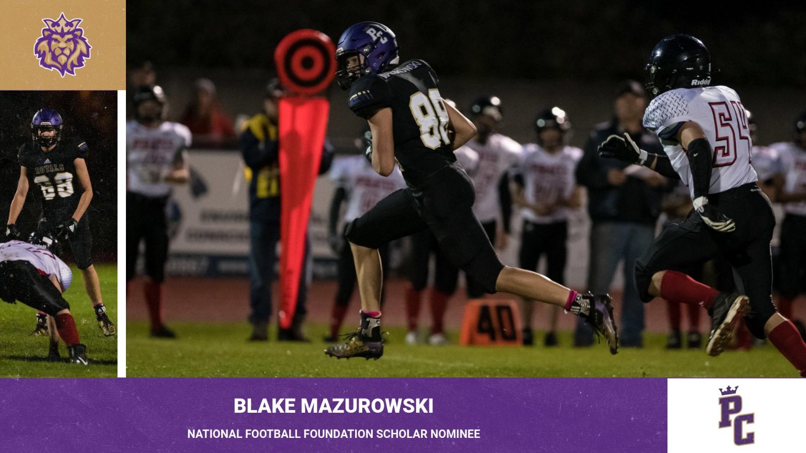 Blake Mazurowski Recognized