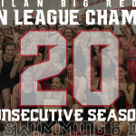 Milan Girls Swim & Dive Captures 20th Straight Huron League Championship