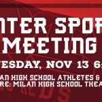 Winter Sports Meeting Wednesday, Nov. 13