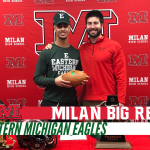 Tristen Hines signs with Eastern Michigan for Football