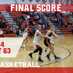 Airport defeats Milan in girls varsity basketball, 63-34