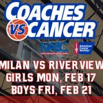 Milan Coaches vs. Cancer Games vs. Riverview