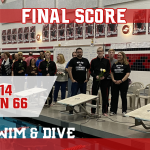 Fourth ranked Milan defeats No. 8 Trenton in boys swim on Senior Night