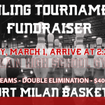 Fowling Tournament Fundraiser, All are Welcome! 3/1