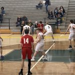 Cuadrado 3-pointer forces overtime, but Flat Rock prevails in JV boys basketball, 48-39